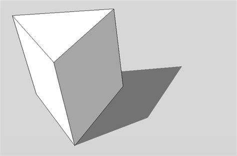 123 sketchup 187 prisma modellieren in 3d - Prisma Form