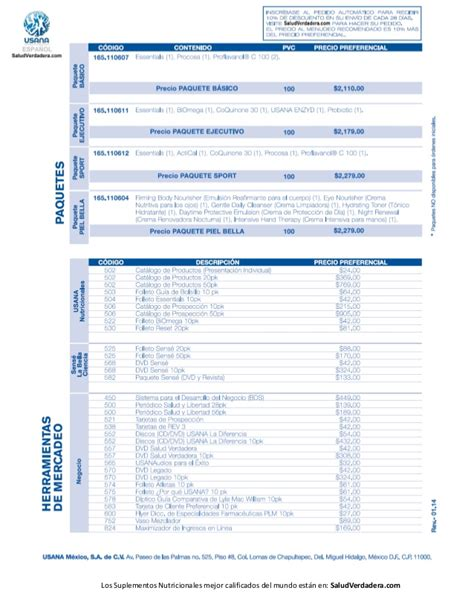 lista de precios de abb en colombia 2014 voltimumcomco lista de precios usana mexico 2014 saludverdadera com