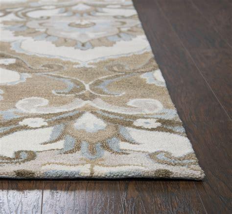 flower area rugs flower pattern wool area rug in mocha ivory brown 8