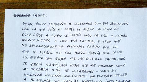 carta ami padrastro este chico de 25 a 241 os escribi 243 una carta a su pap 225 te