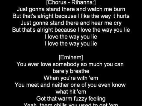 Eminem Love The Way You Lie Lyrics | eminem ft rihanna love the way you lie lyrics youtube