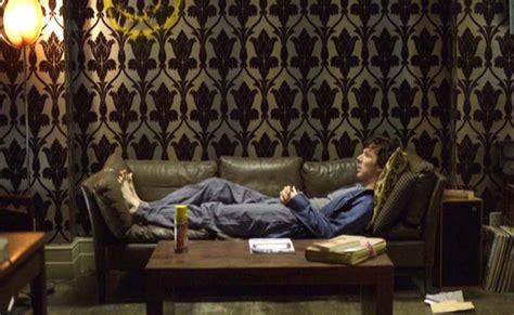 Sherlock Living Room Wallpaper by 221b Baker Wallpaper Phone Sock S Woolly Web