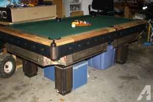 pool tables greenville sc 7 ft slate pool table and accessories easley wren