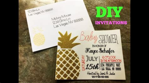 Make  Ee  Invitations Ee   And Label Envelopes  Ee  With Cricut Ee
