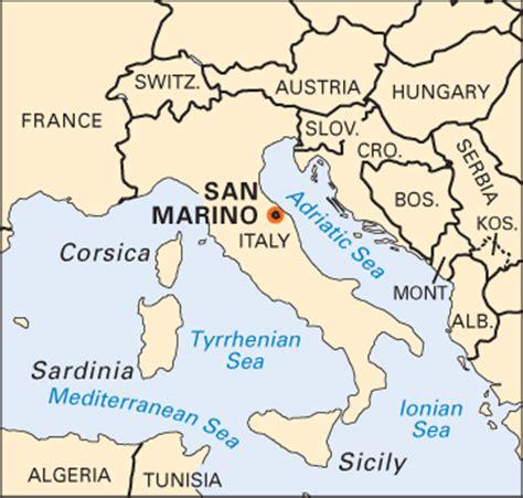 san marino on world map san marino location students britannica