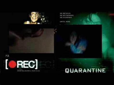 quarantine film youtube quarantine vs rec youtube
