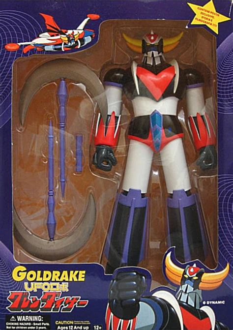 Ufo Robo Grendizer 1975 yamato toys archives dx robo