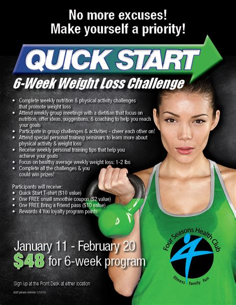 six stuff weight loss challenge new year s resolution results in six weeks four seasons