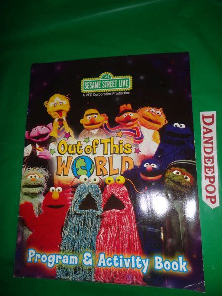 live program sesame streets activity books and activities on pinterest