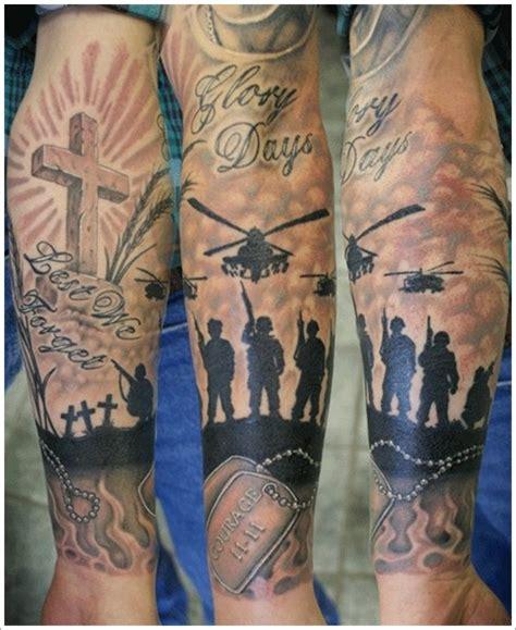 army tattoo sleeve designs 35 patriotic tattoos on sleeve