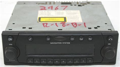 land rover discovery 2 radio land rover discovery ii 2002 2004 factory stereo nav