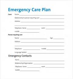 care plan forms template sle care plan template 9 free documents in pdf word