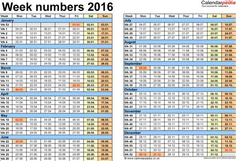 numbers schedule template weekly number calendar 2016 weekly calendar template