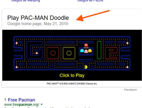 doodle do pacman 30 easter eggs you to try plush media
