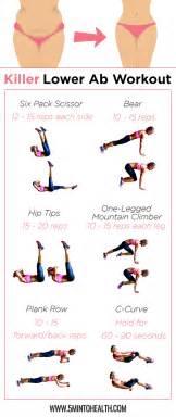 8 killer lower ab exercises 5 min to health