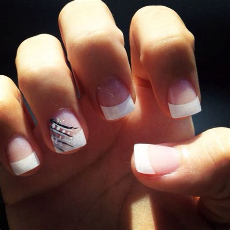 tips design french tip cute nails pinterest