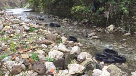 letto fiume pulizia letto fiume solofrana si muove anche il