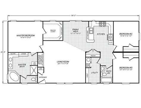 30 best mobile home floor plans images on