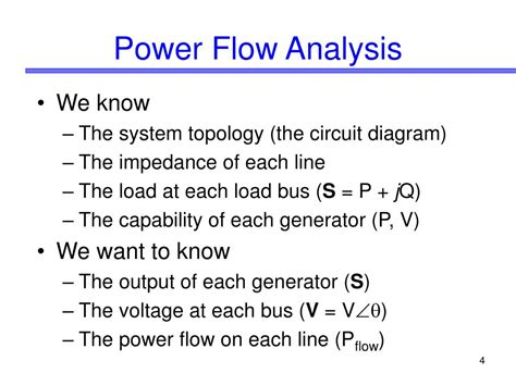 power system analysis circuit load flow and harmonics second edition power engineering willis books ppt introduction to the power flow problem powerpoint