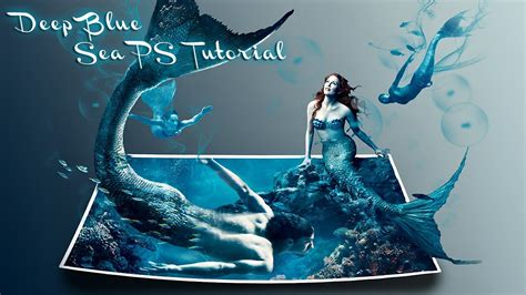 3d Effekt by Blue Sea 3d Effect Photoshop Cs6 Tutorial This