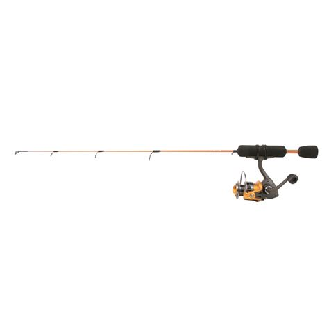 ultra light rod and reel clam dave genz 24 quot power stick series spring bobber ice
