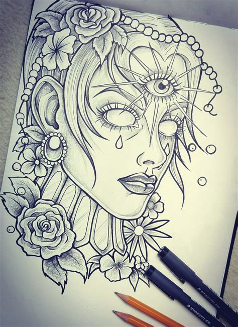 deviantart tattoo sketches www imgkid com the image