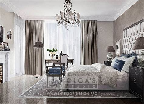 bedroom design a in the neoclassical style