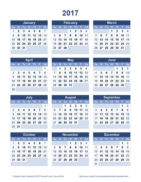 printable calendar vertex download the printable 2017 yearly calendar