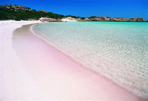 beaches with pink sand the most secluded beach volcano s and othe places tour