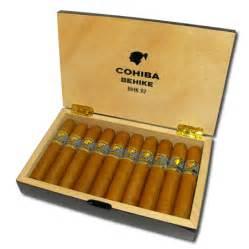 Wish Box Wedding Cohiba Behike Cigars