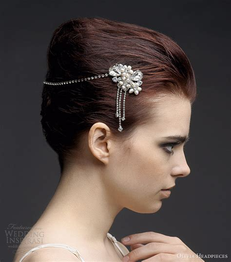 Vintage Wedding Hair Accessories Canada by Headpieces 2013 Bridal Collection Wedding Inspirasi