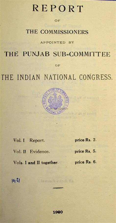 lot book report mullock s auctions india amritsar 1st book