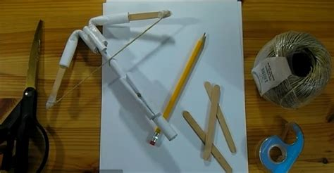 How To Make A Crossbow Paper - make a paper crossbow paperise 2012