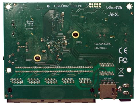 Router Mikrotik Rb750g mikrotik routerboard hex rb 750gr3 rb750gr3 was rb750g 5 port 10 100 1000 switch and or router