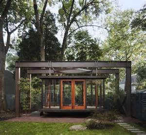 Shed Architectural Style floating japanese tea house backyard pinterest