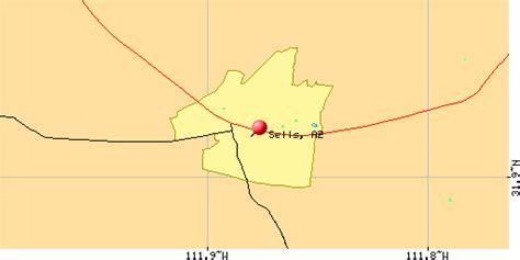 sells arizona map sells