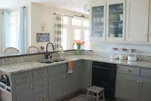 painting over painted kitchen cabinets why i repainted my chalk painted cabinets sincerely sara d