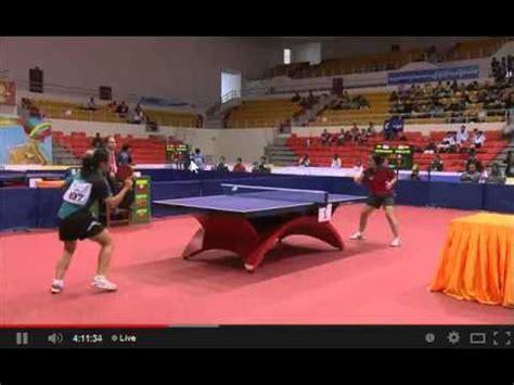 Meja Tenis Meja 1 Set tenis meja sea 2013 beregu putri indonesia vs singapura di x