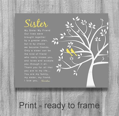 Sister Christmas  Ee  Gift Ee   Sister Friendalized