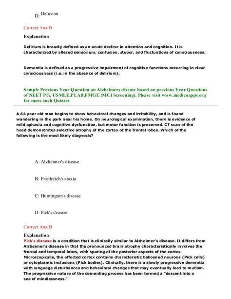 neet pattern questions volume 3 alzheimers disease sle questions based on neet pg