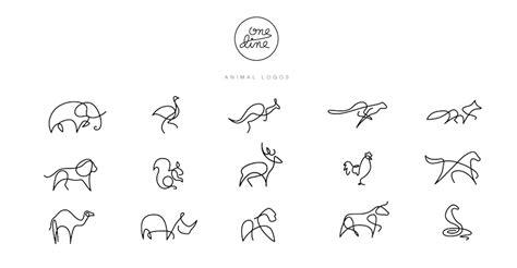 One Line Animal Drawings