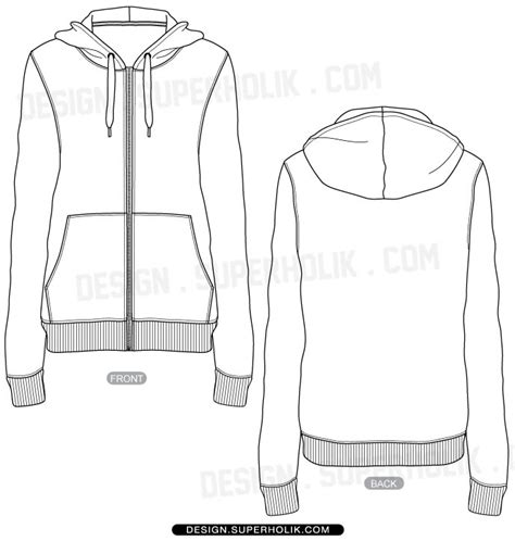 Jaket Sweater Hoodie Wolfskin Simple Keren 4 Fashion Design Templates Vector Illustrations And Clip
