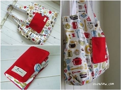 pattern for fold up tote bag fold up cloth shopping bag bags bags bags pinterest