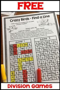 printable division games year 2 1000 images about third grade think tank on pinterest