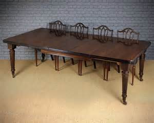 10 Seater Dining Table Mahogany 10 Seater Extending Dining Table C 1890 Antiques Atlas