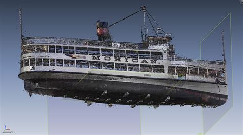 boat hull new api services 3d scans boat hull for lake george steamboat