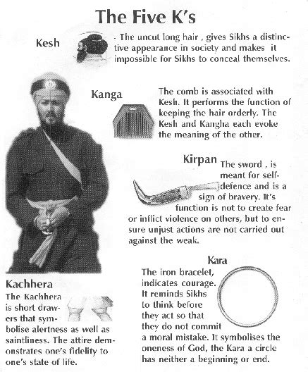 Sikhism?s ?Five Ks? and Other Sacred Clothing and Artifacts « oneClimbs.com
