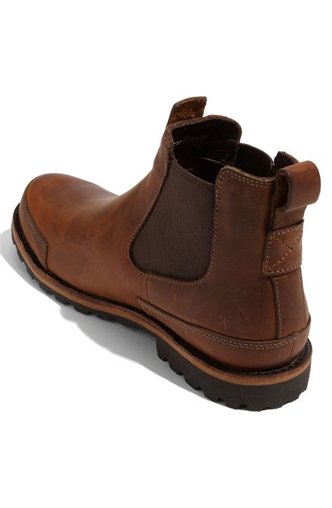 Timberland Nevada Brown timberland earthkeepers city chelsea boot in brown for