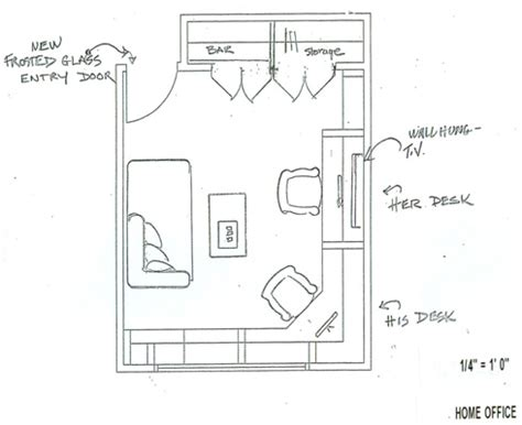 home office plans home office remodel floor plan rexyness