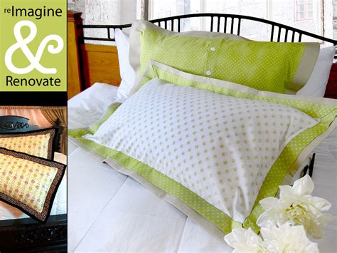 Pillow Sham Pattern Free by Re Imagine Renovate Flange Pillow Shams In